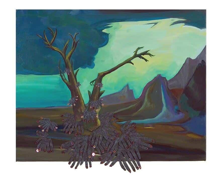 Hudson Valley River Invasion #5 by Katerina Lanfranco