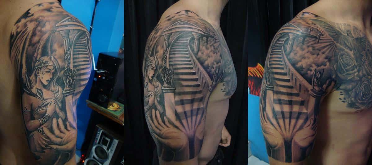 Stairway to Heaven arm sleeve