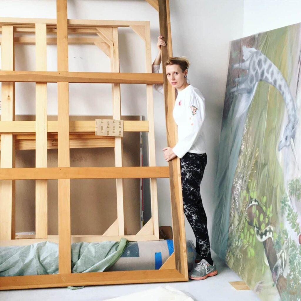 Katerina lanfranco art is breathing