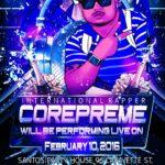 International Rapper Corepreme
