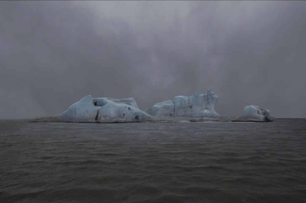 The Blue Fossil Entropic Stories by Julian Charrière