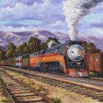 Southern Pacific Daylight by Hawaiian Painter Darice Machel McGuire