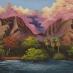 Olowalu by Hawaiian Painter Darice Machel McGuire