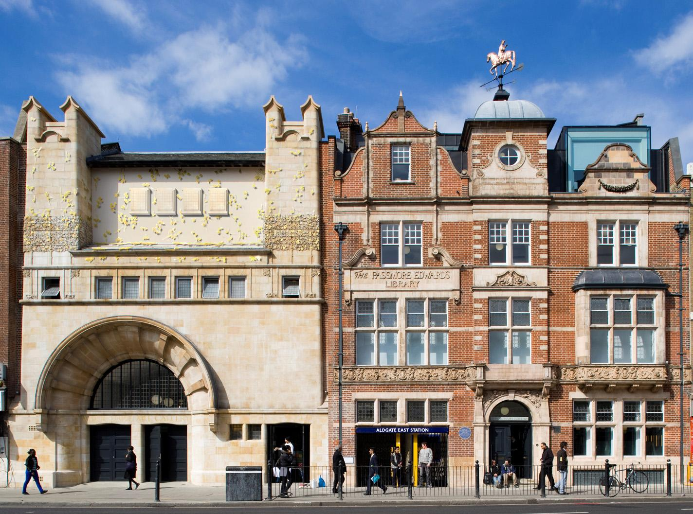 Whitechapel Art Gallery, London, England.