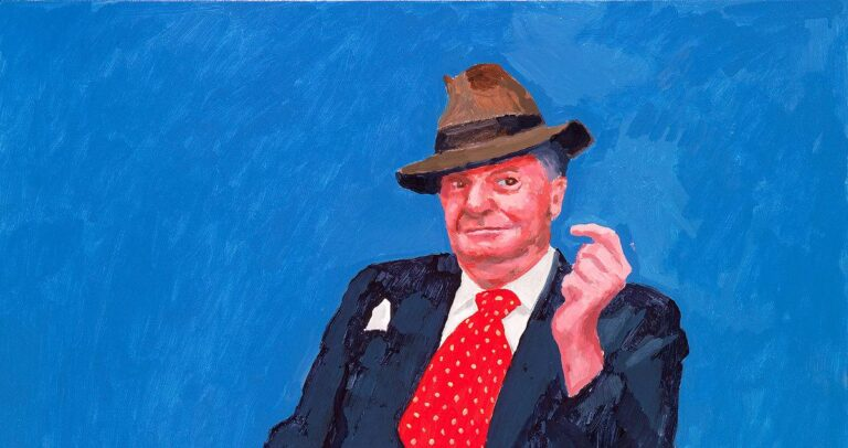 David Hockney Exhibition - 82 Portraits and 1 Still-life