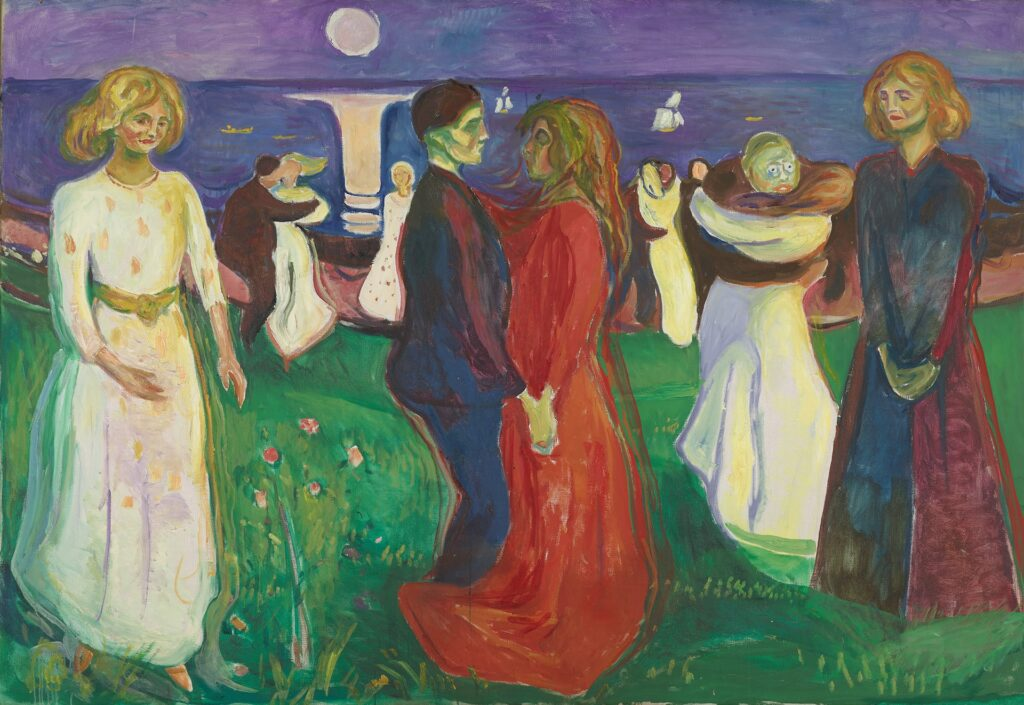 The dance of life by Edvard Munch