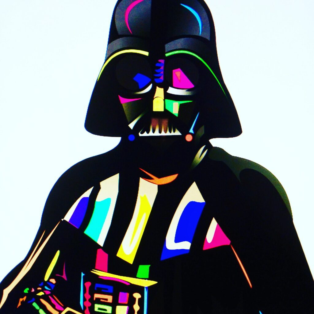 Darth Bright Vader by Mr. Clever Art