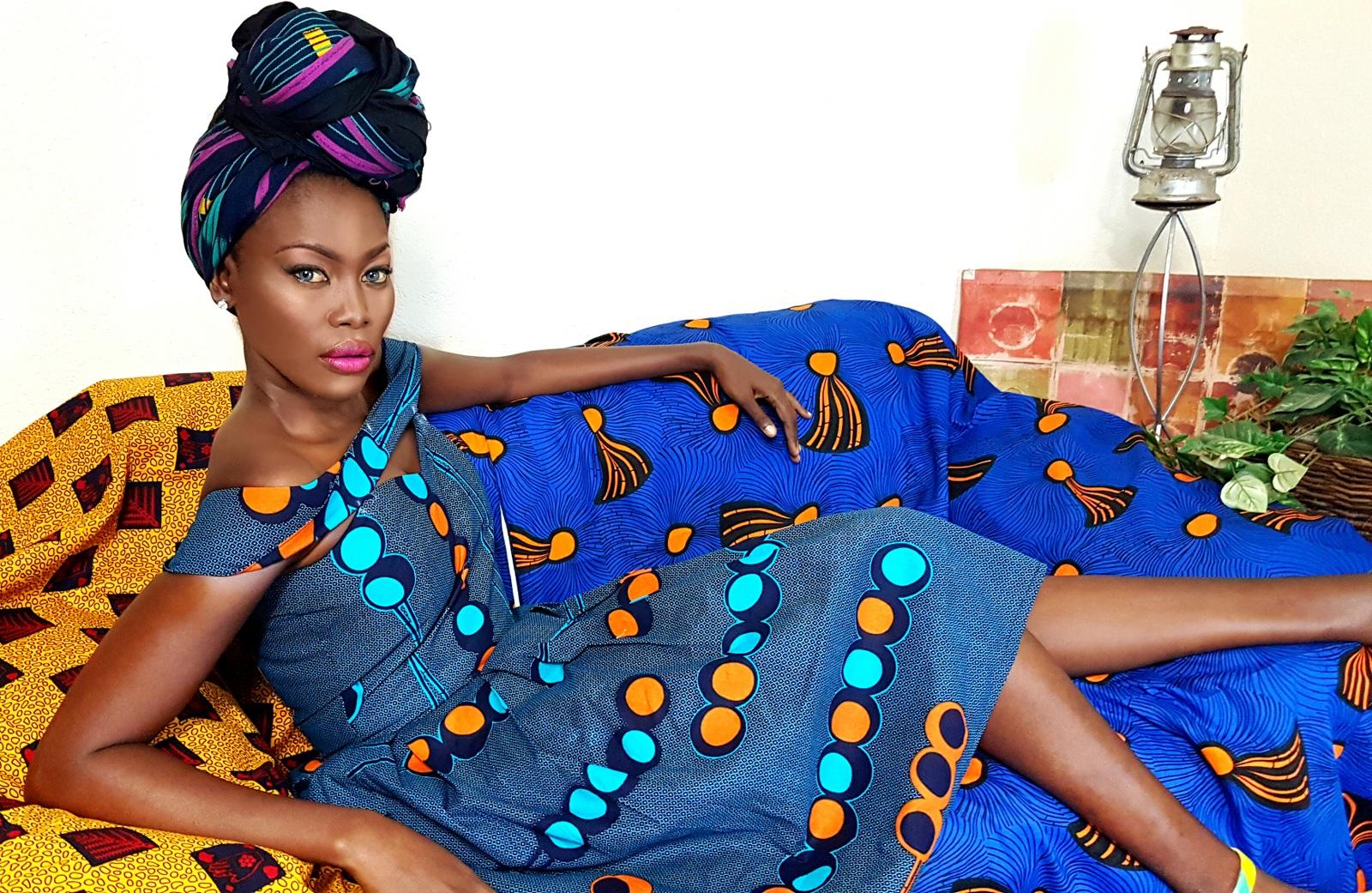 Fashion designer Anrette Ngafor, Founder of Liiber London