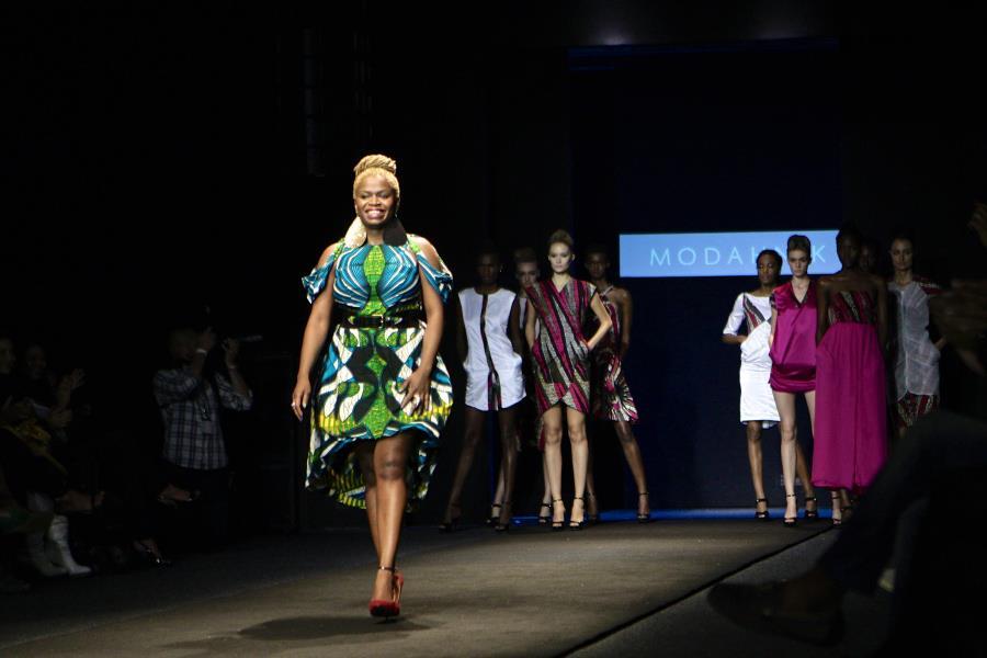 Fashion designer from Africa Kahindo Mateene