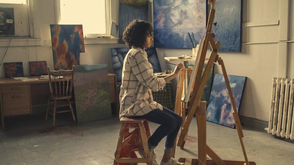 painter interview by creativinn