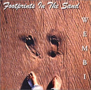 Footprints in the sand by American Singer Songwriter Wembi