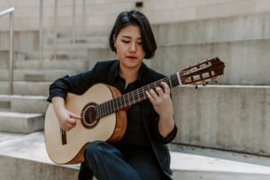 Korean guitarist Bokyung Byun