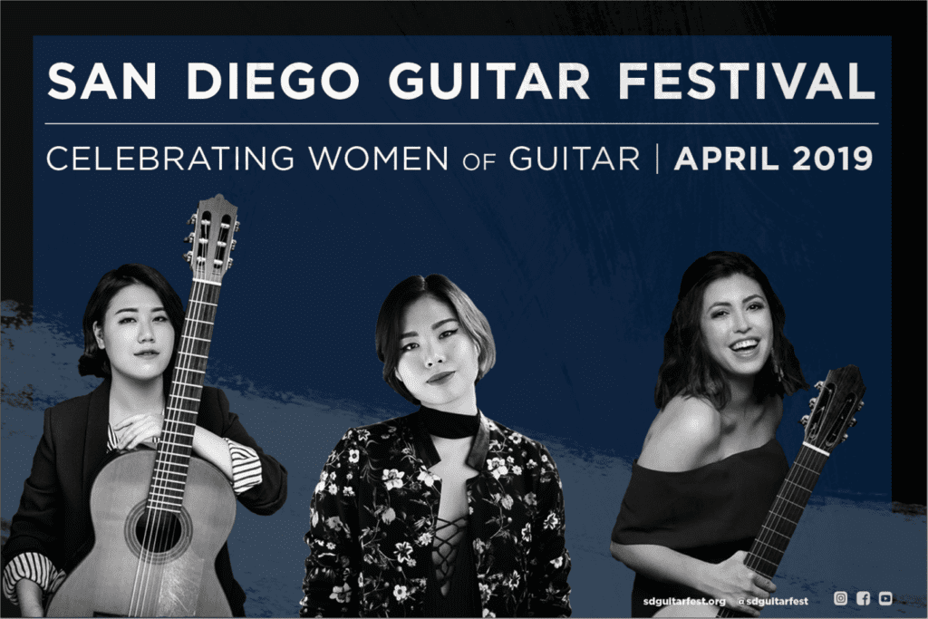 Korean guitarist Bokyung Byun at San Diego Guitar Festival