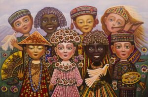 Peace by Armenian Painter Sevada Grigoryan