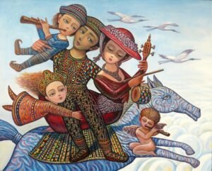 Toward Homeland by Armenian Painter Sevada Grigoryan